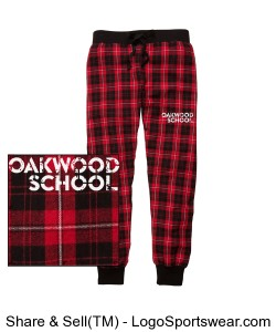 Youth Tailgate Jogger Pants Design Zoom